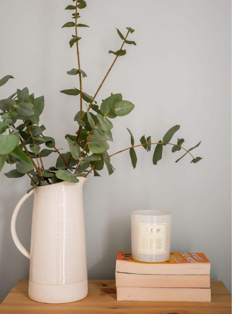 eucalyptus-bougie-ceramique-scandinave-annecy